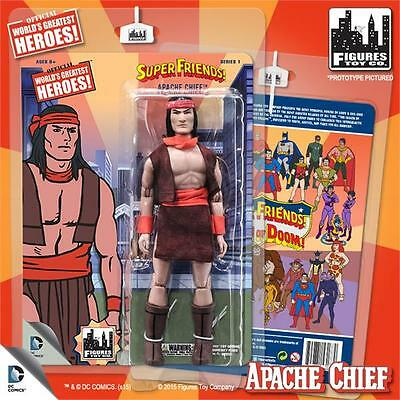 Super Friends SERIES 1  Apache Chief 8 INCH ACTION FIGURE MOSC NEW