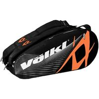 VOLKL MEGA 9 BLACK/ORANGE TENNIS BAG - NEW