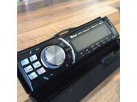 Car stereo front part only - Bluetooth -MP3 - auxiliary cable & USB port