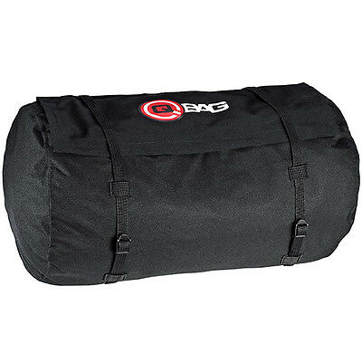 QBag Motorbike Motorcycle Touring Luggage Waterproof Roll Bag 3 - Black