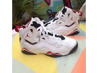 Nike air Jordan true flights trainers uk size 5