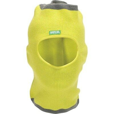 MSA 10118418 V-Gard Value Yellow Winter Liner Knit Hat-Cap Cover for Hard Hats