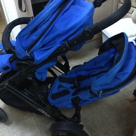 Britax B-Dual Tandem (double) Pushchair - suitable from birth