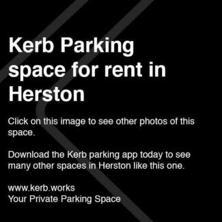 $5/day parking in HERSTON. Book via the Kerb App.