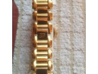 LADIES PAOLO GUCCI GOLD PLATED WATCH