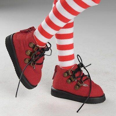 Dollmore 1//4 BJD MSD Red Adrienn Boots