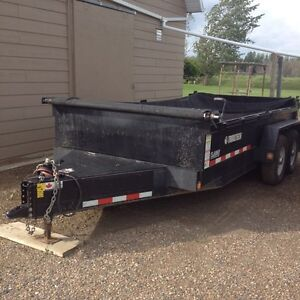 14' Trailtech dump trailer
