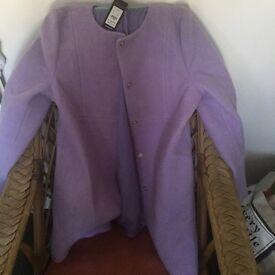 Purple New Look Coat