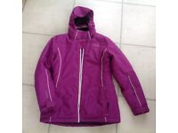 Girls Dare 2 B Purple Ski/Snow Jacket Age 11-12 As new only worn few occasions