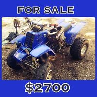 •AWESOME DEAL ON THIS 2001 BANSHEE•