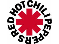 RED HOT CHILI PEPPERS TICKET BIRMINGHAM SUN 11 DECEMBER