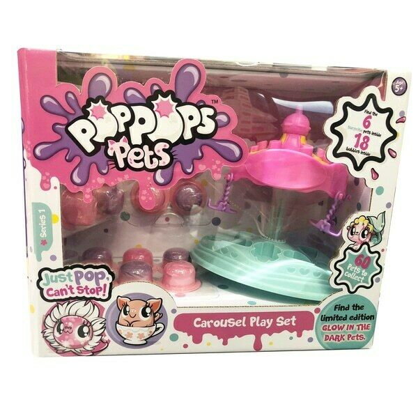 Yulu Pop Pop Pets Carousel Playset