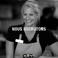 SERVEUR,SERVEUSE - WAITER, WAITRESS