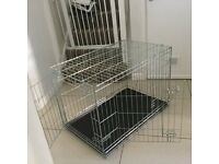 Medium dog crate £25