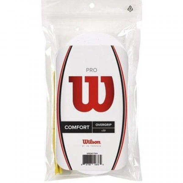 Wilson Pro Overgrip (30-pack), White