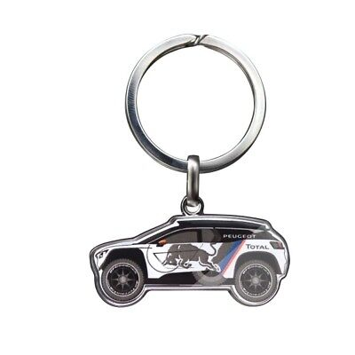 Peugeot 3008 DKR / Dakar Rally Key Ring - genuine merchandise - 16ldkr301