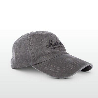 Marshall Amps Baseball Cap, One Size Fits Most, Grey