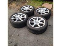 Citroen saxo,Peugeot 106,206,Ford Fiesta,escort wolfrace wheels,£130