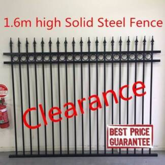 Best quality solid steel fece panel rings and spears