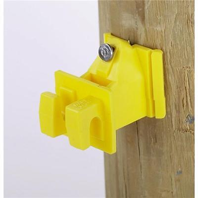 20 Pk Dare Nail On Wood Post Electric Fence Wire Insulator 25pk 1728-25