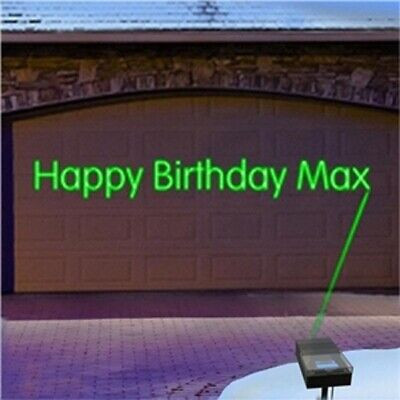 Mr. Christmas Programmable Lite-Write Laser Show Animated All Occasion Projector ()