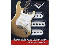 Fender Custom Shop Texas Special Strat Pickups. complete set