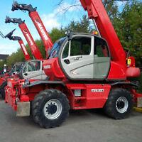 2013 Manitou MRT2540 Rotating Telescopic Forklift