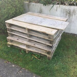 FREE stack of 5 pallets.