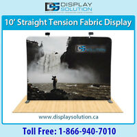 Stranded Quality Tension Fabric Popup Booth