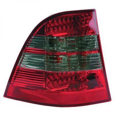 Rückleuchten Set für Mercedes M-Klasse W163 98-06 LED Klarglas/Rot-Grau