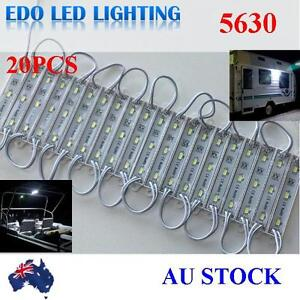5630-12V-LED-waterproof-Strip-Module-Light-Coolwhite-Garden-Camping-Boat-Caravan