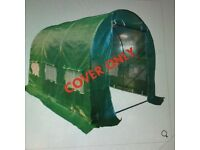 Polytunnel cover/roof 3x2x3m