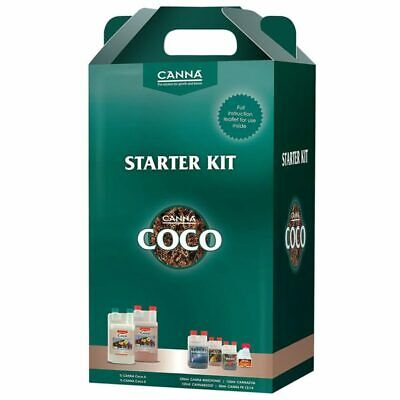 Canna Coco Starter Kit - Plant Nutrient Pack - 24 Hour Shipping