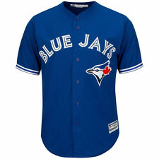 Toronto Blue Jays Kids Youth Large Age 14/16 Jersey Cool Base Blue Alternate MLB