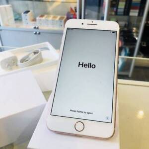 As New Iphone 7 plus 128gb Rose Gold Invoice Incl Apple Warranty Labrador Gold Coast City Preview