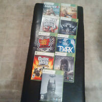 XBOX 360 game lot
