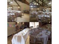 Vintage / Barn / Shabby Chic Wedding Venue Decor Package