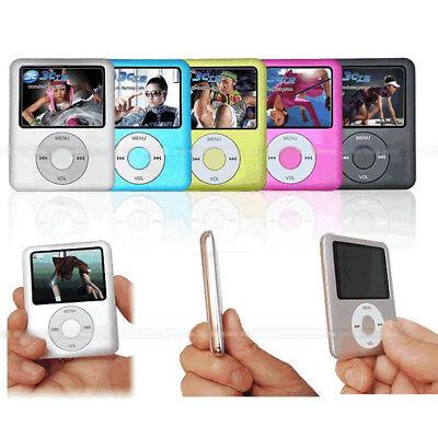 MP3 8GB PLAYER 4GB MP4 LETTORE 16GB 32GB AUDIO VIDEO FOTO RADIO FM OCCASIONE!! j