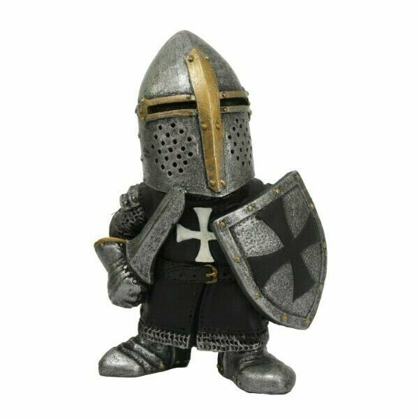 Pacific Giftware PT Medieval Times Crusader Helmet Knight Small Collectible...
