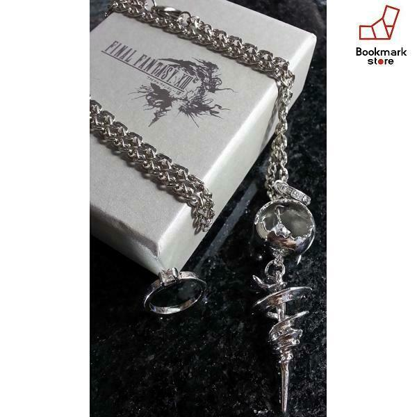 New SQUARE ENIX FINAL FANTASY XIII Engage pendant Serah F/S from Japan