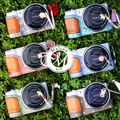 [Melten] Fabric Camera Half Case For Sony Alpha A5100 A5000