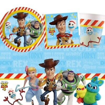 Disney Toy Story 4 Movie Party Tableware, Decorations & Balloons