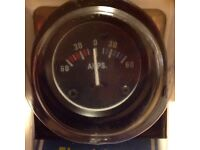 Automotive or boat amp meter,