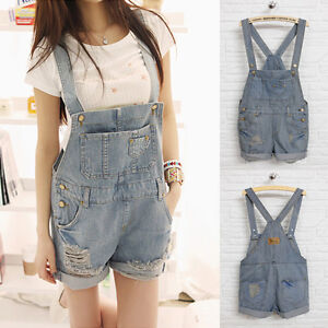 2013-Women-Girsl-Washed-Jeans-Denim-Casual-Hole-Jumpsuit-Romper-Overall-Short