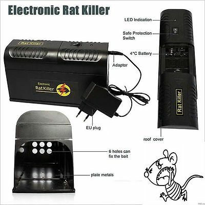 New Electronic Mouse Rat Rodent Killer Electric Trap Zapper Pest Control