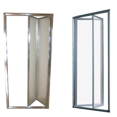 Box doccia nicchia porta pieghevole libro soffietto da 68 a 101 cristallo 5 mm
