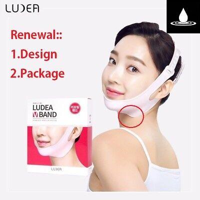RENEWAL LUDEA V-BAND Facial lifting Dropped Cheek & Chin Silicon Band Elasticity