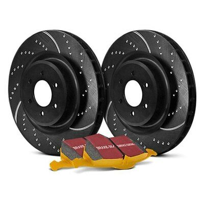 For Audi S4 04-08 EBC Stage 5 Super Street Dimpled & Slotted Front Brake Kit