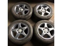"Mercedes E class Alloy wheels 16"""