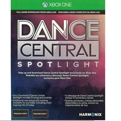Dance Central: Spotlight - Xbox One (Download Card) - CAN (One Spotlight)